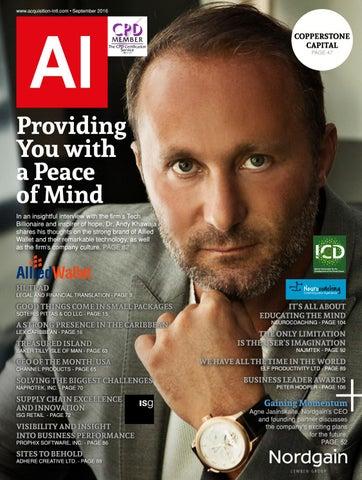 AI Magazine September 2016 by AI Global Media - issuu