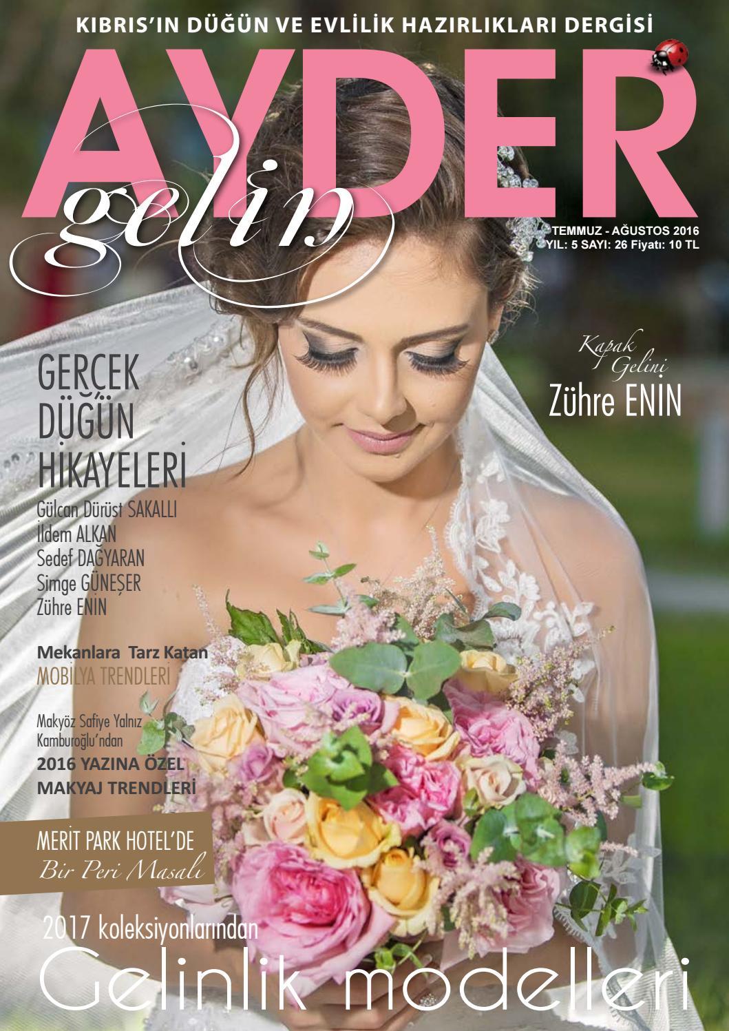 Ayder Gelin Sayı 32 - N.Cyprus Wedding Magazine by ACM I