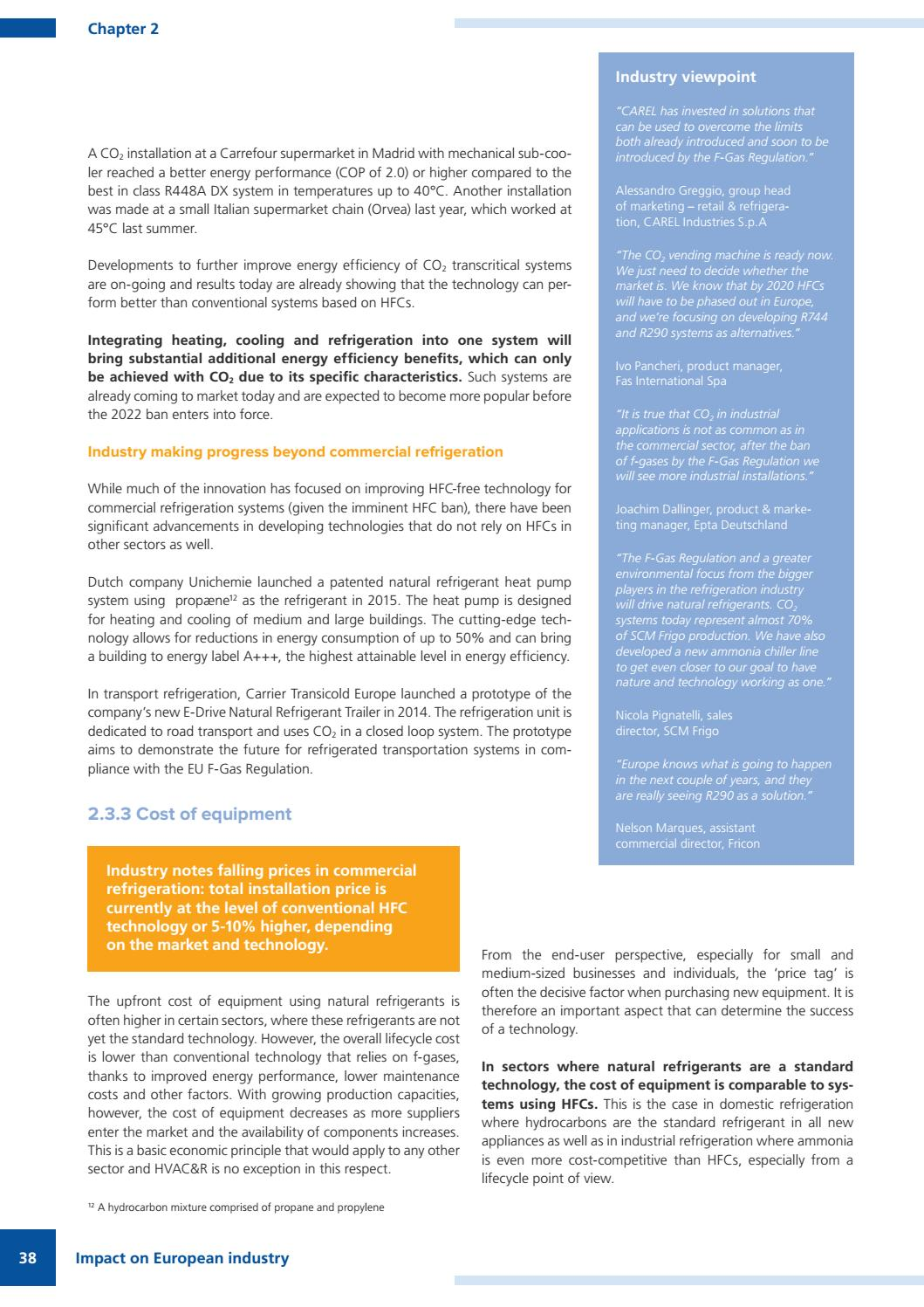 F-Gas Regulation shaking up the HVAC&R industry by shecco - issuu