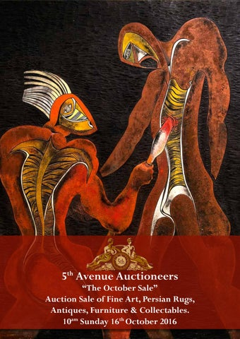October Auction - South African & International Oil Paintings