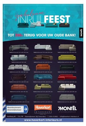 Hoekbank Montel Cima.Haverkort Interieurs Oktober 2016 By Weekblad De Toren Issuu