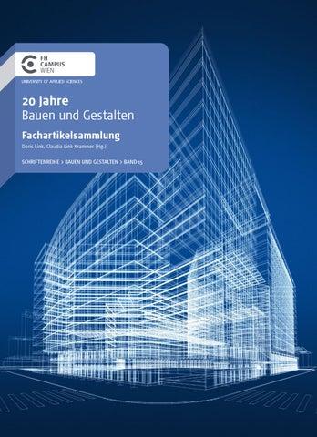 Fachartikelsammlung 20 Jahre Bauen und Gestalten by FH Campus Wien ...