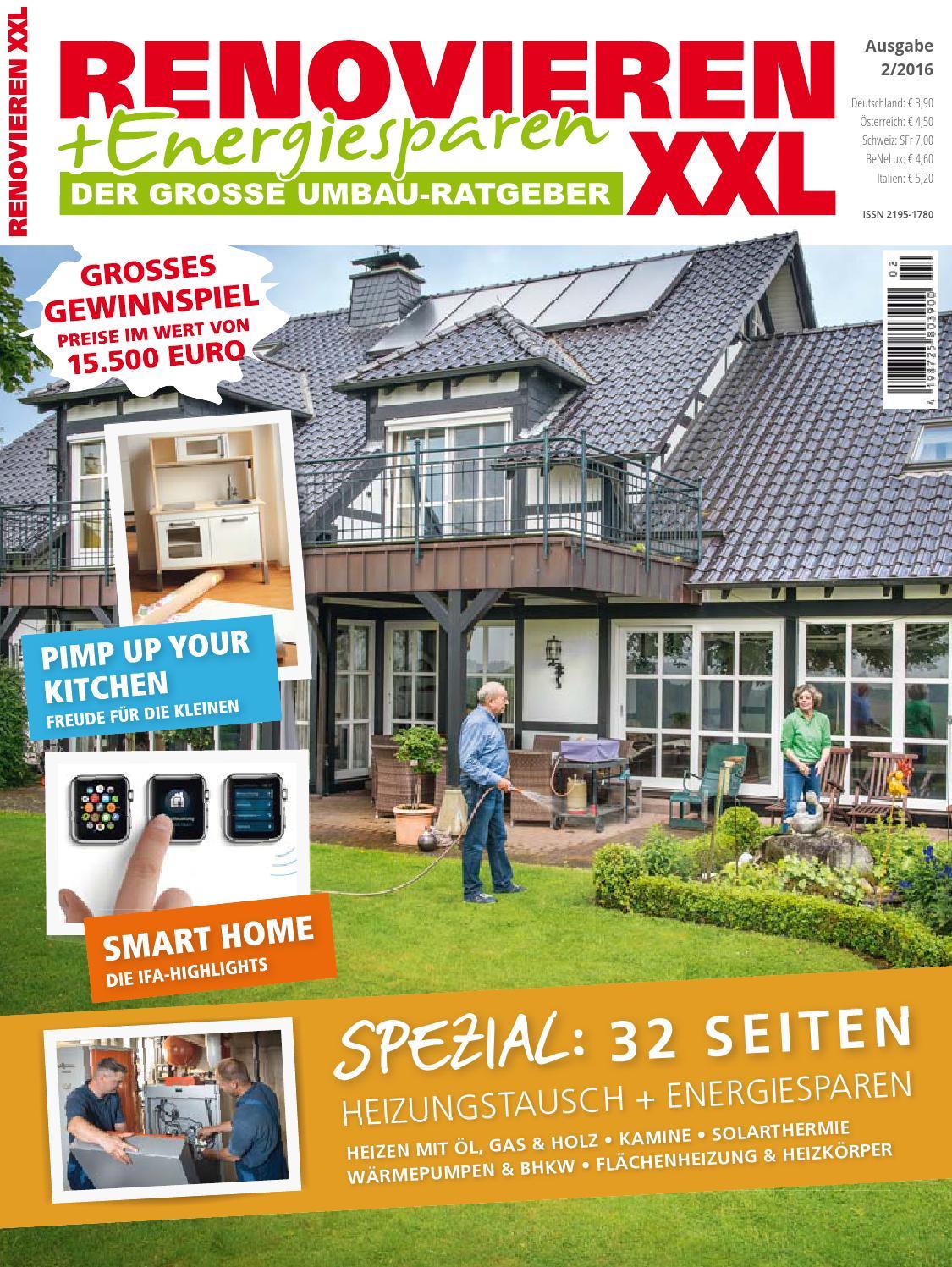 Renovieren & Energiesparen 2/2016 by Family Home Verlag GmbH - issuu