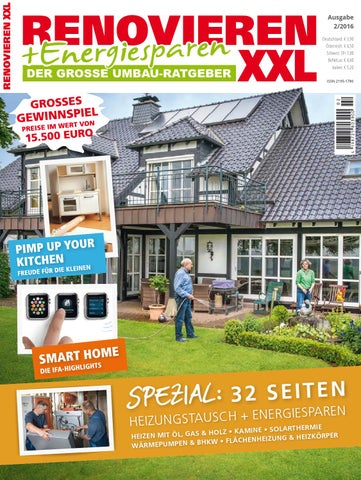 Renovieren Energiesparen 2 2016 By Family Home Verlag Gmbh Issuu