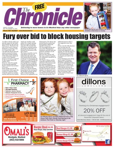 Tc The Chronicle Wexford Issue 75 121016 By Chronicle Wexford Issuu
