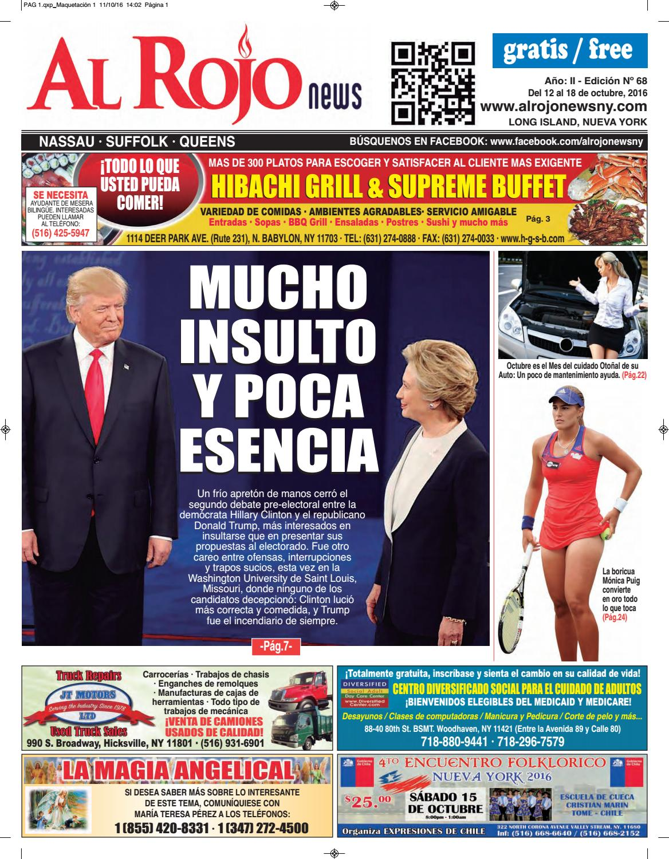 Al Rojo News año II edición 68 by Jose Rivas - issuu