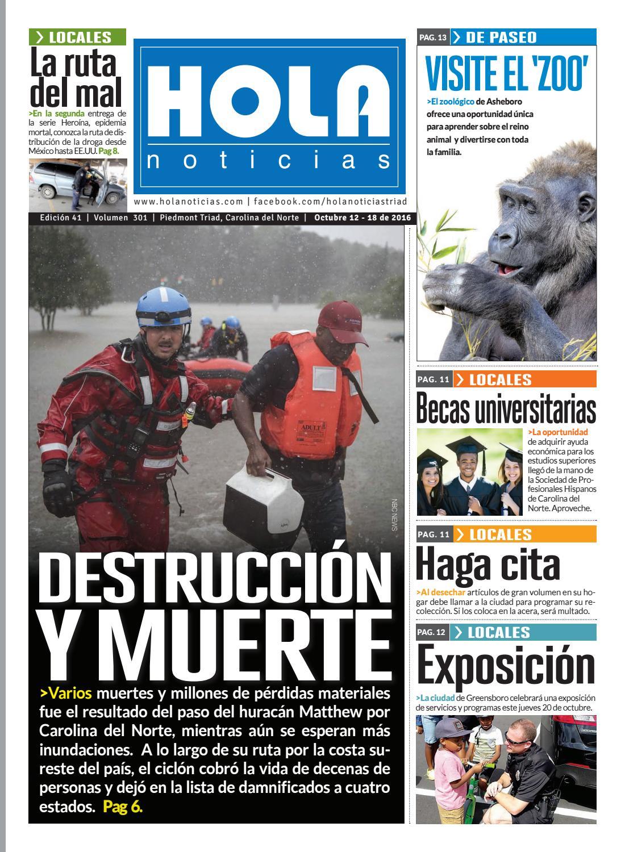 Destrucción y Muerte by Hola News - issuu