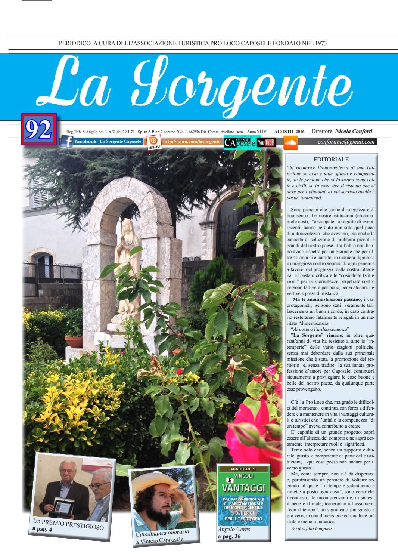 Sorgente 92 by Periodico La Sorgente - issuu 57f9cb43757