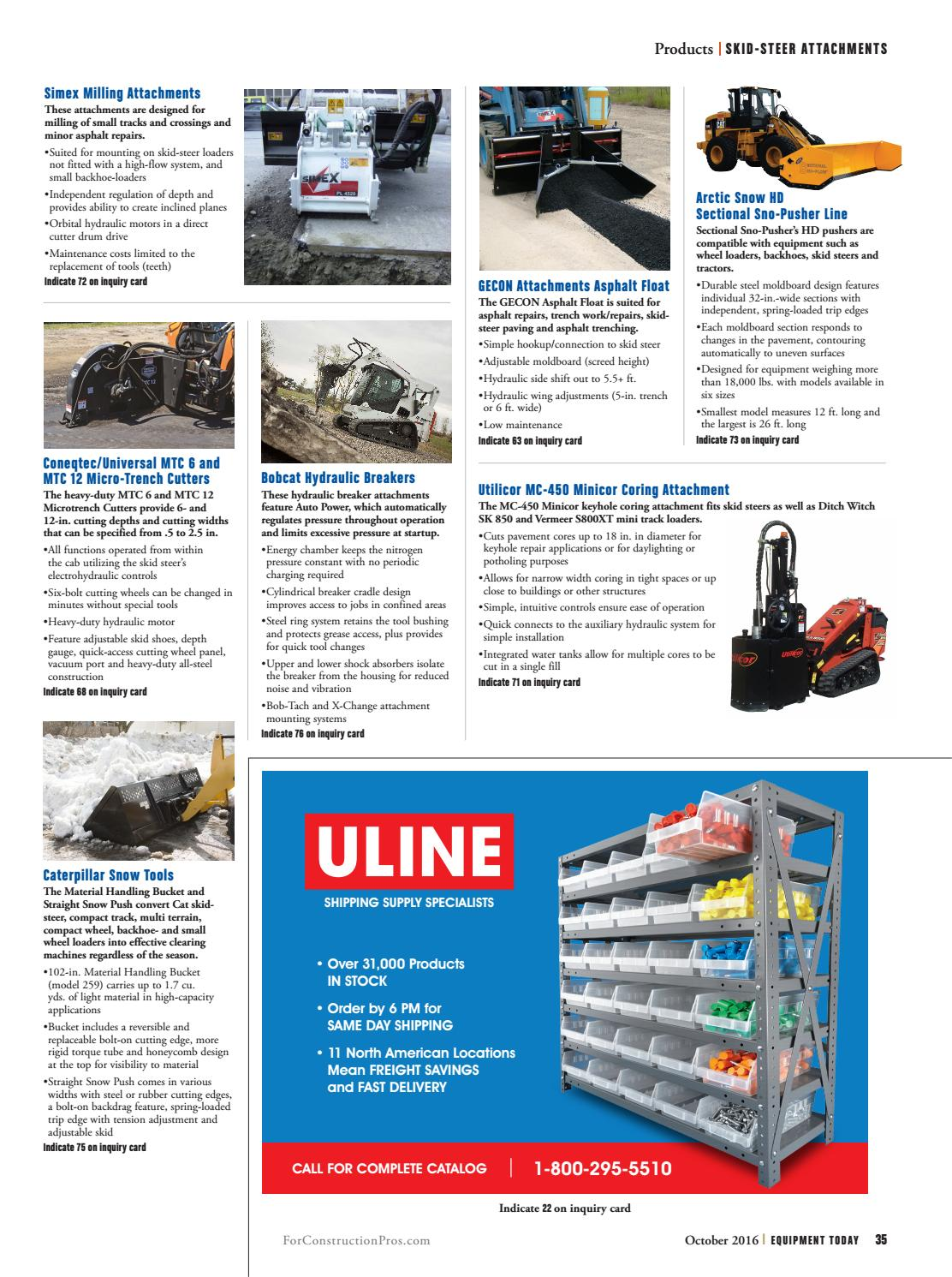 Equipment Today October 2016 by ForConstructionPros com - issuu
