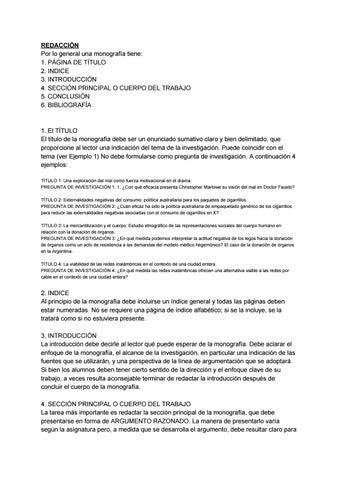Estructura De La Monografía By Biblioteca Cnsr Issuu