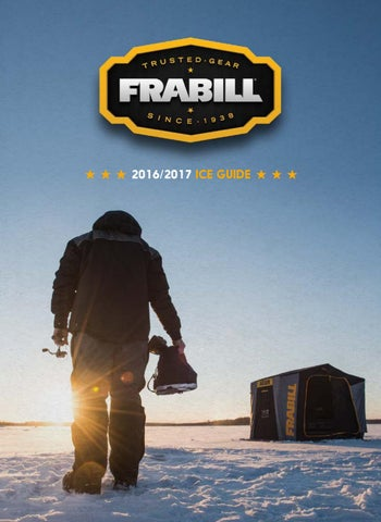 2016/2017 Frabill Ice Guide by PlanoSynergy - issuu