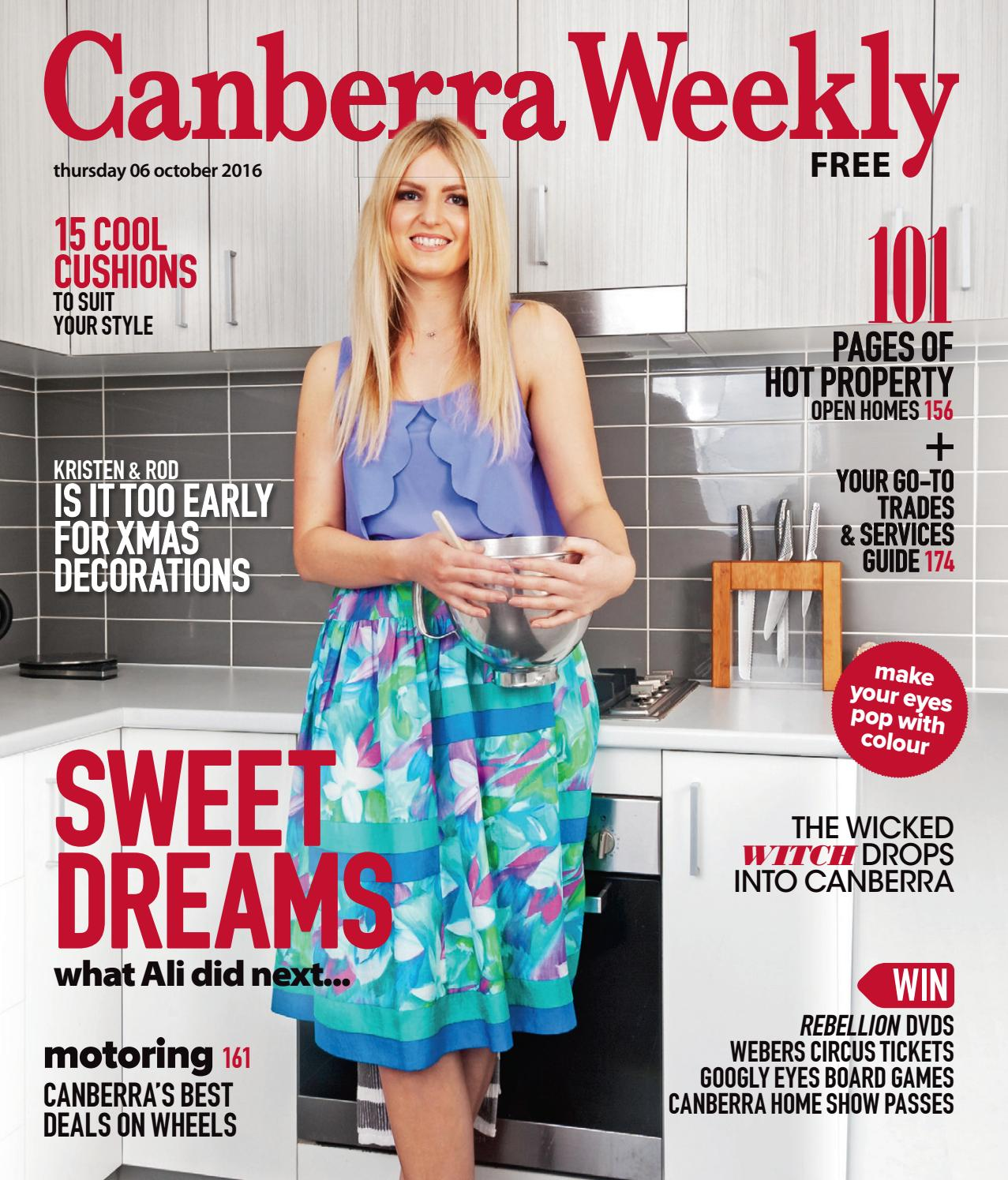 b2bf290c70 06 October 2016 by Canberra Weekly Magazine - issuu