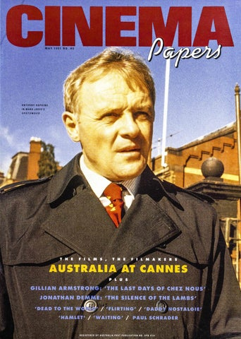 Cinema Papers No83 May 1991 By Uow Library Issuu