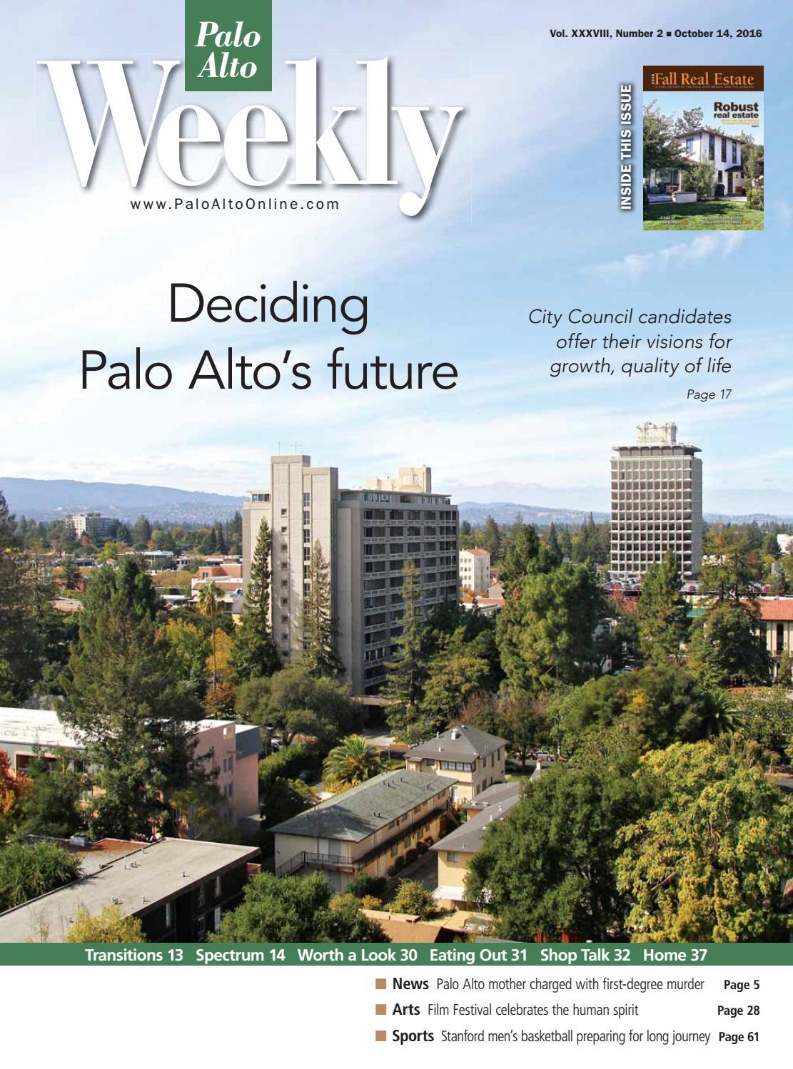 Palo Alto Weekly October 14, 2016