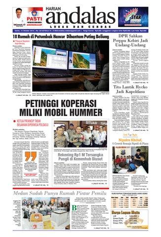 Epaper andalass edisi kamis 13 oktober 2016 by media andalas - issuu a00a260f82
