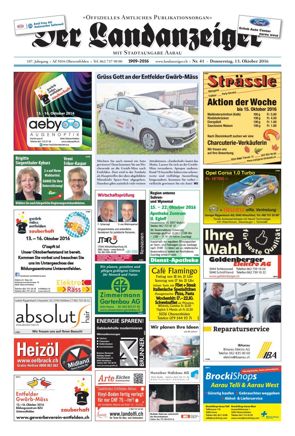Der Landanzeiger 4116 By Zt Medien Ag Issuu