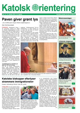 Katolsk press mot pavens censur