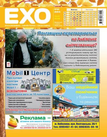 0aa3263db802ca Тижневик «ЕХО» №42(684) by Тижневик «ЕХО» - issuu