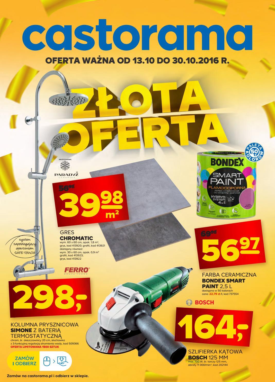 Castorama Gazetka Od 13 10 Do 30 10 2016 By Iulotka Pl Issuu