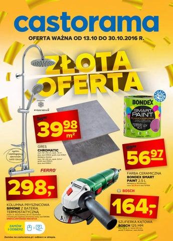 Castorama Gazetka Od 1310 Do 30102016 By Iulotkapl Issuu