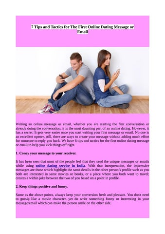 Funny emails to send online dating