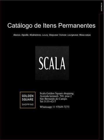 9201b9c48 Catálogo de itens Permanentes Scala 2016-2017 by Scala Golden Square ...