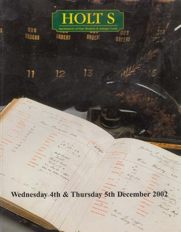 Auctioneers Holt's December Issuu 2002 By v4B4R