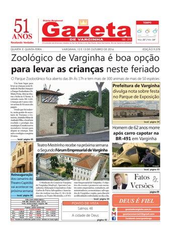 Jornal Gazeta de Varginha 12 e 13 10 2016 by Gazeta de Varginha - issuu 4213566a63
