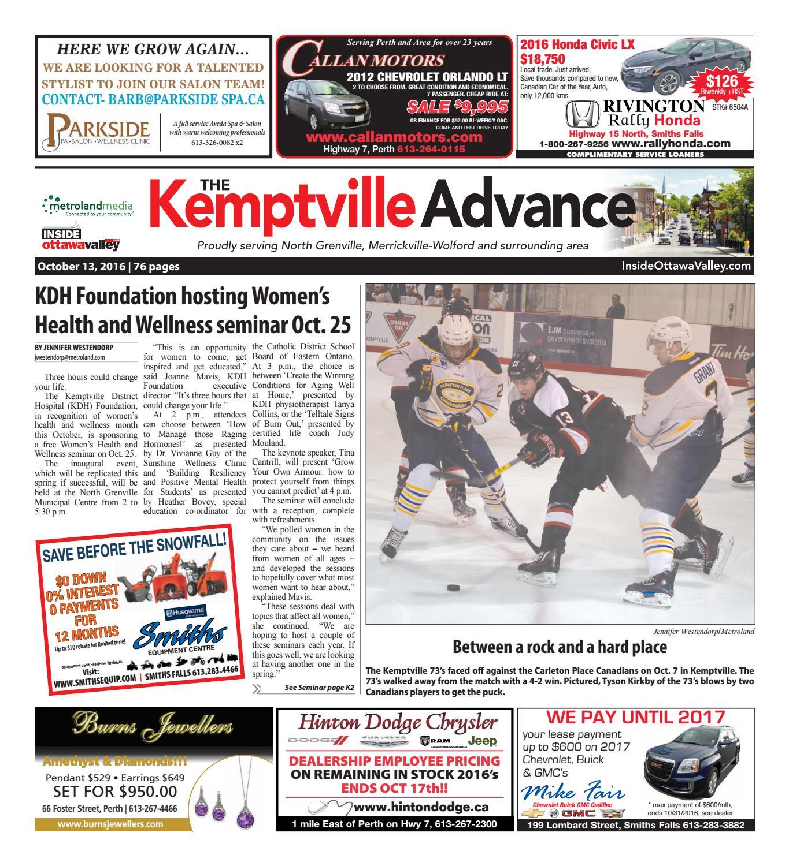 Kemptville101316 by metroland east kemptville advance issuu fandeluxe Gallery