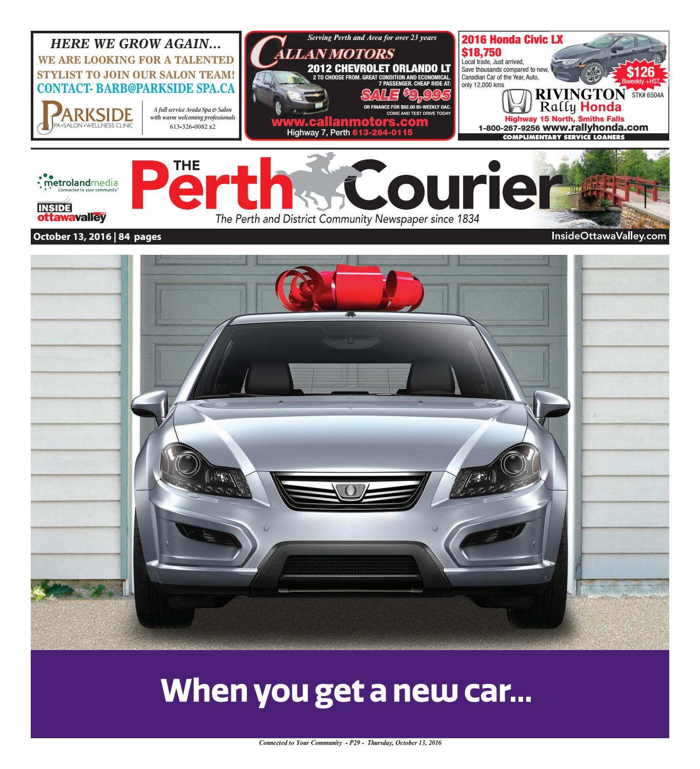 Perth101316 by metroland east the perth courier issuu fandeluxe