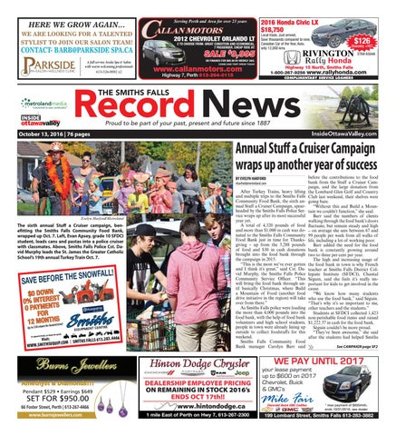 Smithsfalls101316 by metroland east smiths falls record news issuu page 1 fandeluxe Gallery