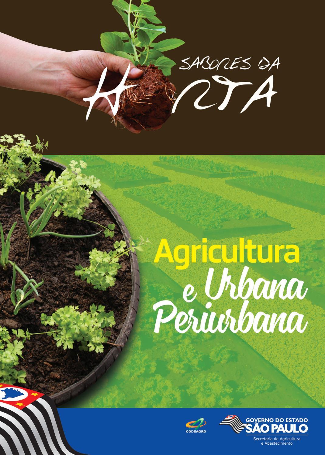 Sabores da horta: Agricultura Urbana e Periurbana by