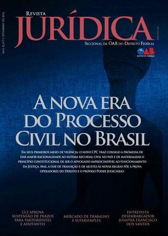 Revista juridica oabdf ed7 site by Ordem dos Advogados do Brasil ... a3e34b7b3c