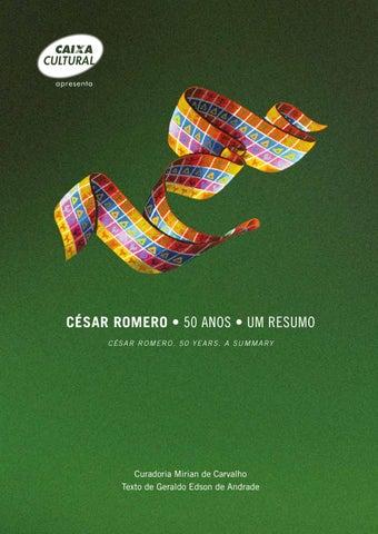 César Romero - 50 Anos - Um Resumo by Expoart - issuu fd6090b1aea