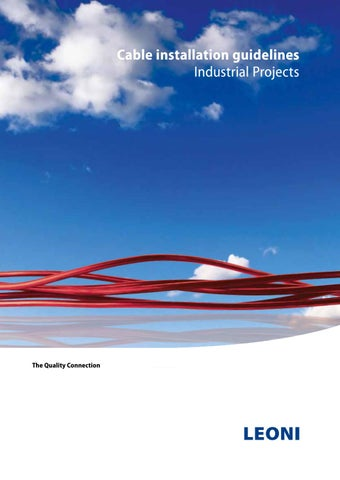 Cable installation guidelines by Voltec CV - issuu