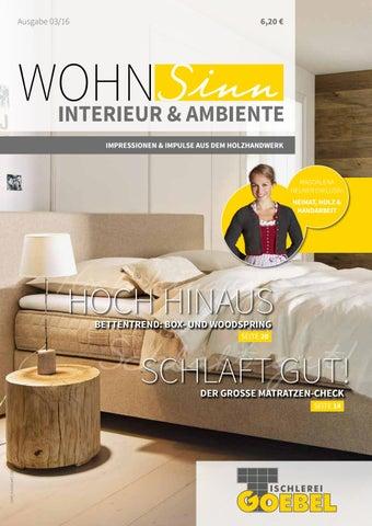 WohnSinn Goebel By TopaTeam GmbH   Issuu