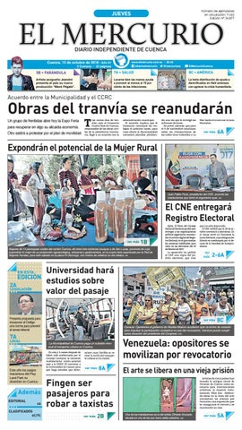52daf81d hemeroteca 13-10-2016 by Diario El Mercurio Cuenca - issuu