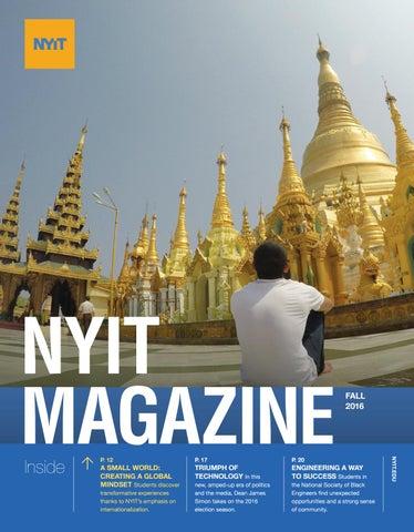 NYIT Magazine Fall 2016 by NYIT Magazine - issuu
