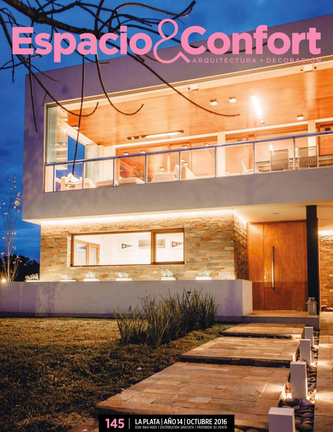 145 La Plata Octubre 16 By Revista Espacio Confort Arquitectura  # Muebles Luberto Mar Del Plata
