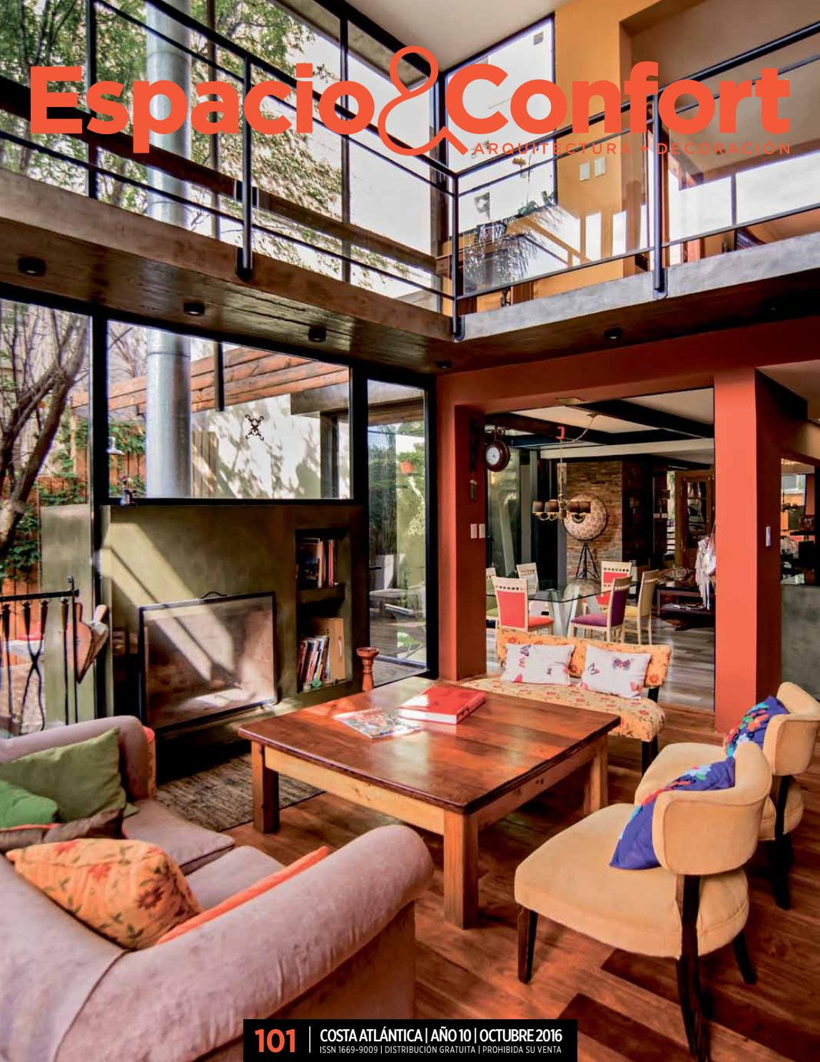 101 Costa Octubre 2016 By Revista Espacio Confort Arquitectura  # Muebles Luberto Mar Del Plata
