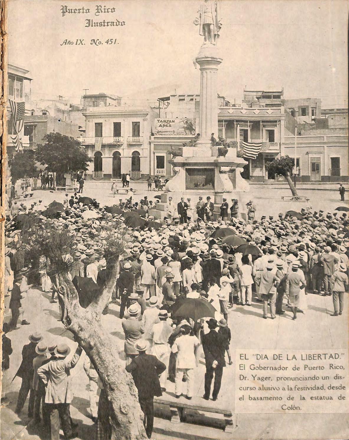 Puerto Rico Ilustrado 19 Oct 1918 By Colecci N Puertorrique A  # Ahorro Muebles Caguas Direccion