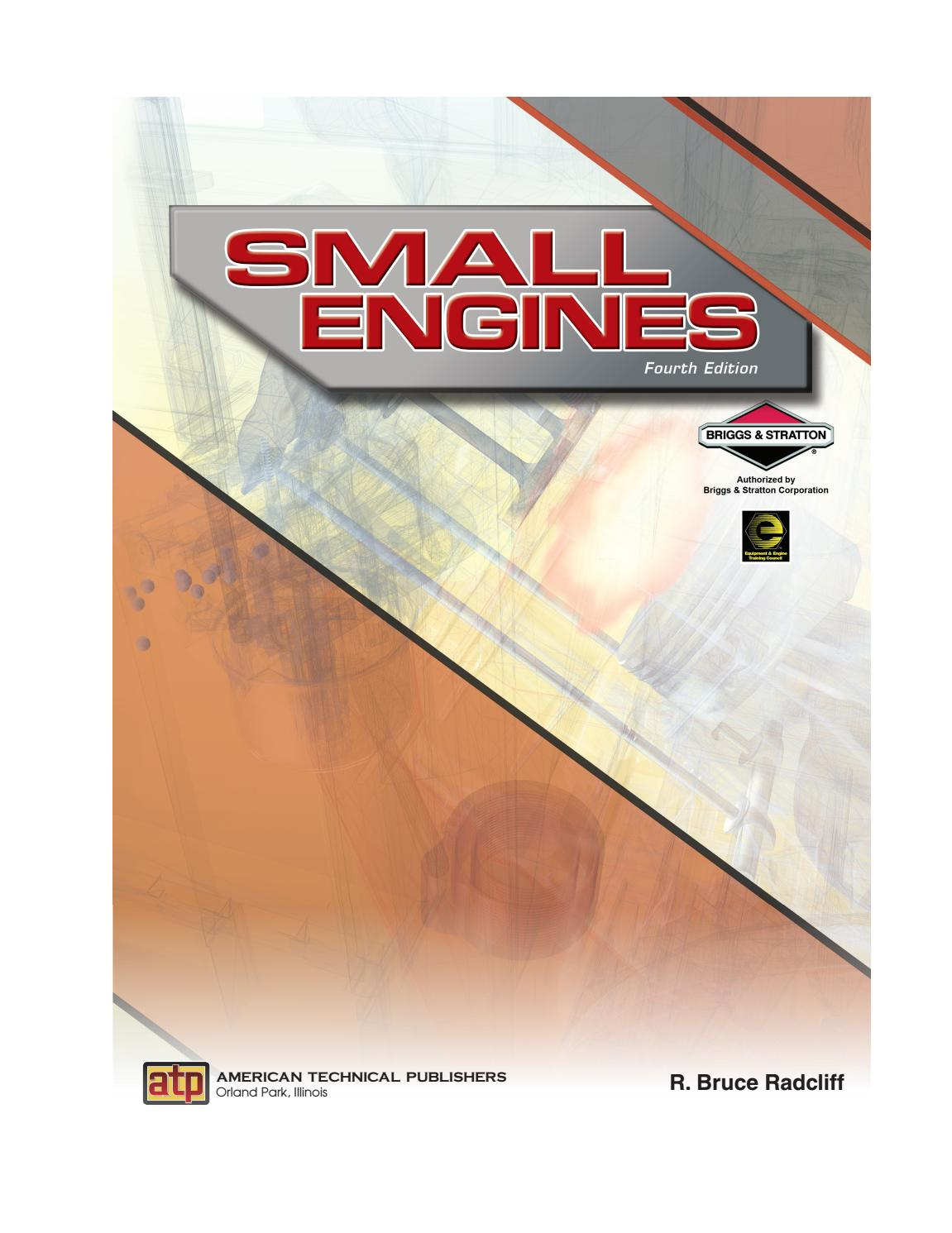 Small Engines by American Technical Publishers - issuu