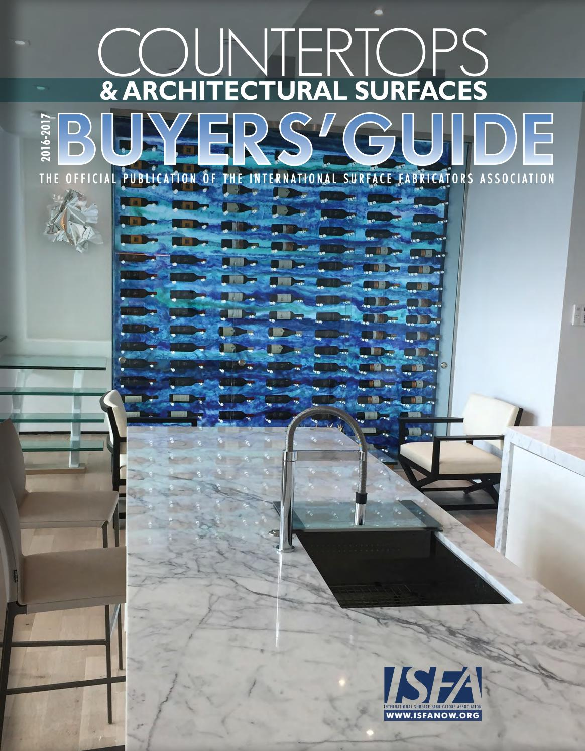 ISFA\'s Countertops & Architectural Surfaces 2016-2017 Buyer\'s Guide ...
