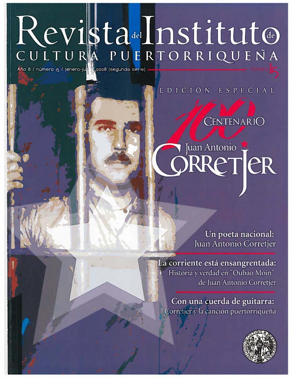Revista del Instituto de Cultura Puertorriqueña by Colección Puertorriqueña  UPR RP - issuu