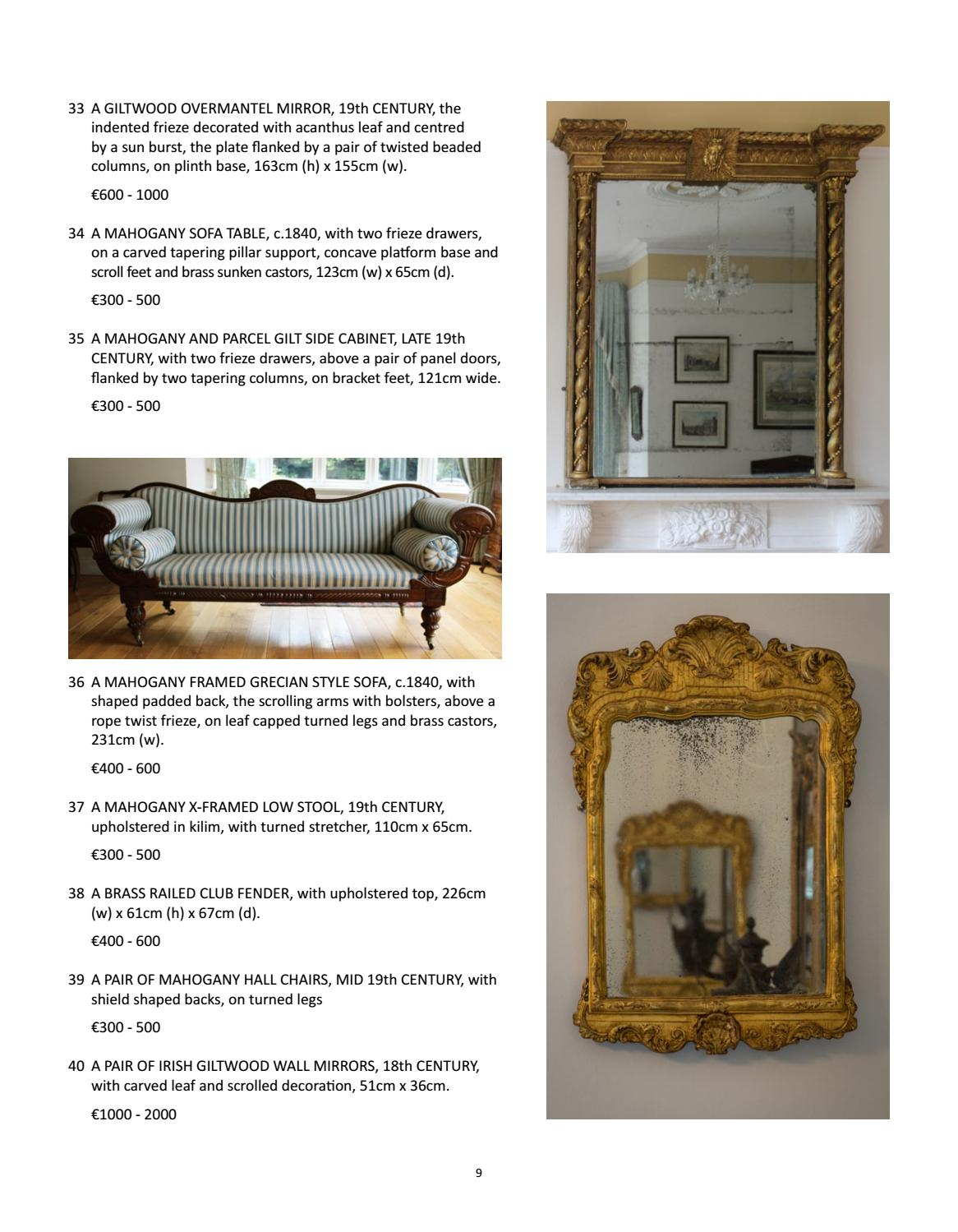 Cool 51 Ailesbury Road By De Veres Art Auctions Issuu Uwap Interior Chair Design Uwaporg