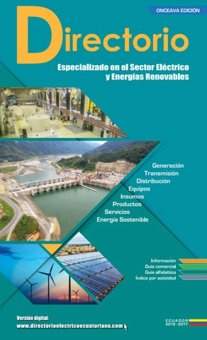 6b3ad4a9 Directorio Electrico 2016 by Globalcorp - issuu