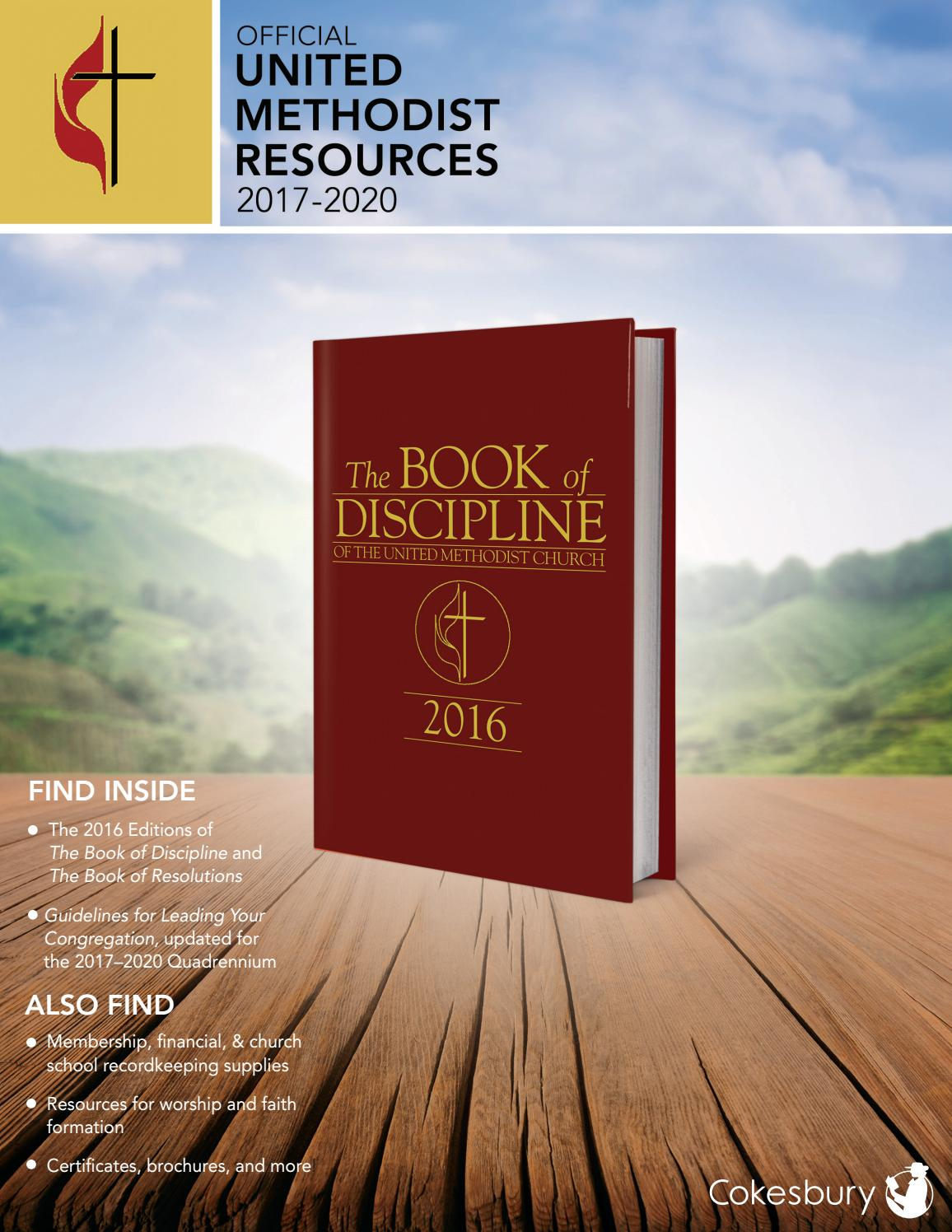 cokesbury's official united methodist resources 2017-2020, Presentation templates