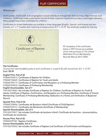 downloadable baptism certificates