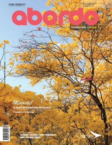 Revista Abordo El Florecimiento De Los Guayacanes By Ekos Issuu