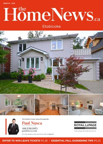 The home news magazine etobicoke october 2016 by thn media issuu issue 10 2016 etobicoke solutioingenieria Image collections